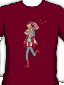 Captain America and Iron Man T-Shirt