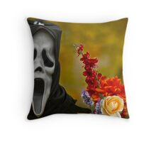 AHHHH!! Throw Pillow
