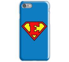 Super E iPhone Case/Skin
