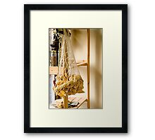 Corns In A Net Framed Print
