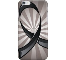 Black Ribbon iPhone Case/Skin