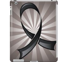 Black Ribbon iPad Case/Skin