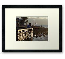Afternoon - Tardecita Framed Print