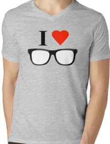 Love nerd Mens V-Neck T-Shirt