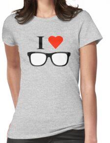 Love nerd Womens Fitted T-Shirt
