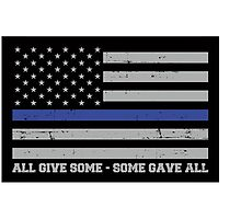 ThinBlueLineNY, Thin blue Line flag United We Stand hooded sweatshirt support police!United we stand thin blue line NY Flag tee shirt Full Front by request! Support police! by HueAnh