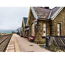 Ribblehead Railway Station Photographic Print