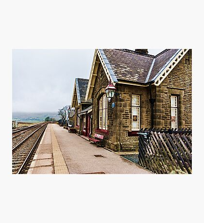 Ribblehead Railway Station Photographic Print