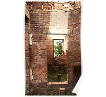 The Window and the Bricks Poster