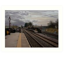 Countryside Station Art Print