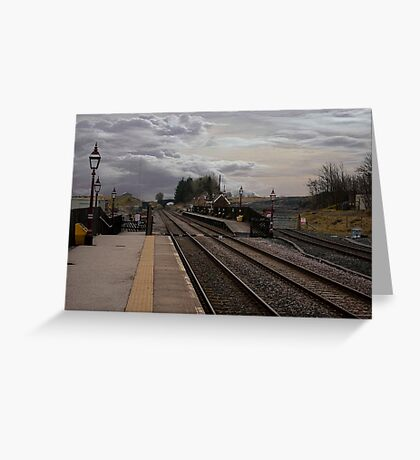 Countryside Station Greeting Card
