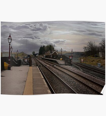 Countryside Station Poster