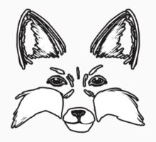 Small Fox - Animal Face by The-Librarian
