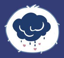 Grumpy Bear - Carebears - cartoon logo by NoirGraphic
