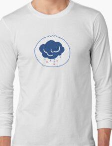 Grumpy Bear - Carebears - cartoon logo Long Sleeve T-Shirt