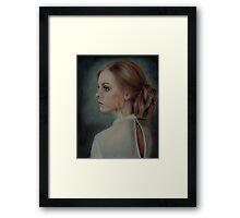 Earring Framed Print