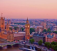 Houses of Parliament at Sunset by copacic