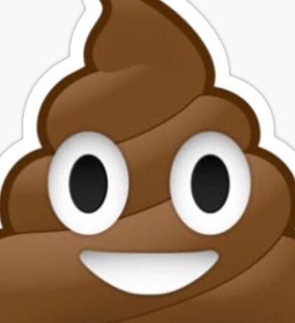 Smiling Poop Emoji Sticker