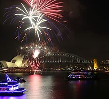 Fireworks at Sydney by kcy011