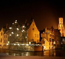 Frosty Bruges  by copacic
