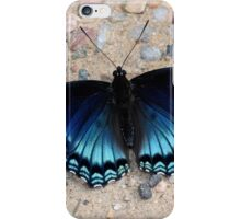 Iridescent Blue iPhone Case/Skin