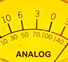 Volume audio meter  Sticker