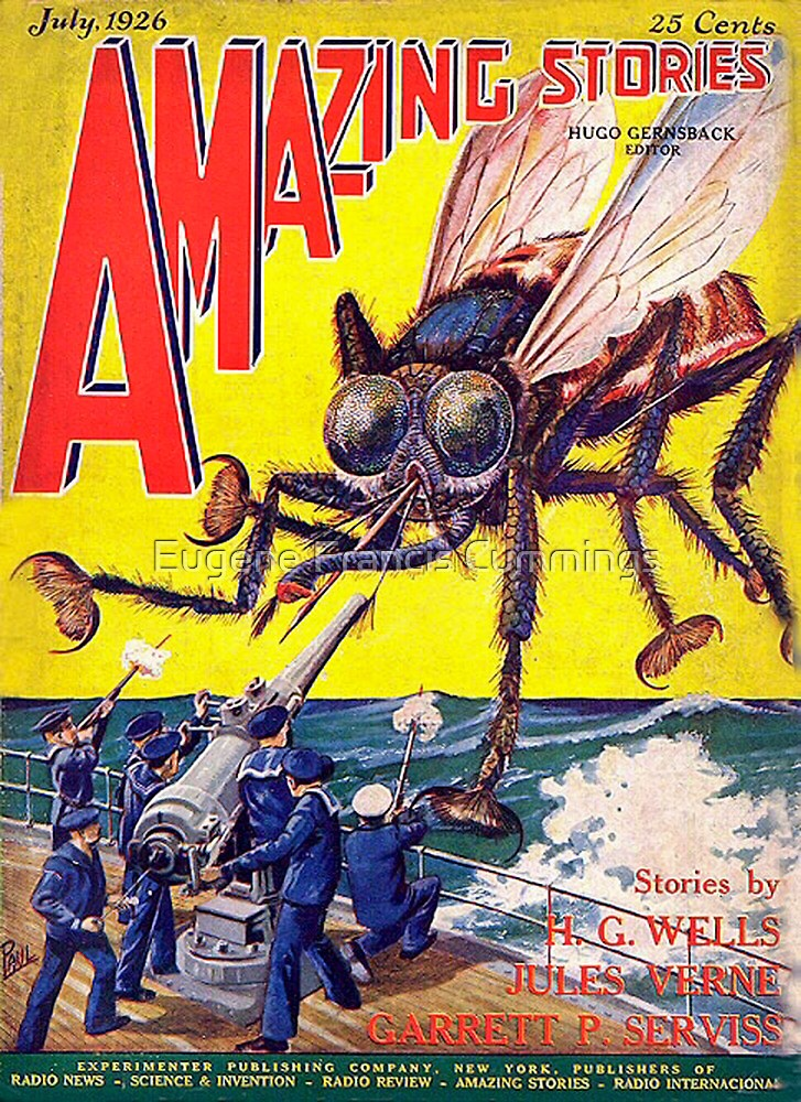 Comic cover by Eugene Francis Cummings