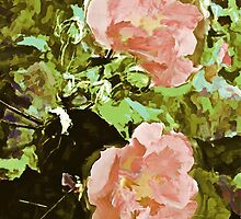Twin Pinks  by Lisa Taylor