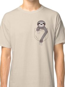 Pocket Sloth Classic T-Shirt