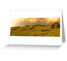Mt Eccles farm, South Gippsland - December 2011 Greeting Card