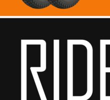 I Ride Two Wheels Sticker