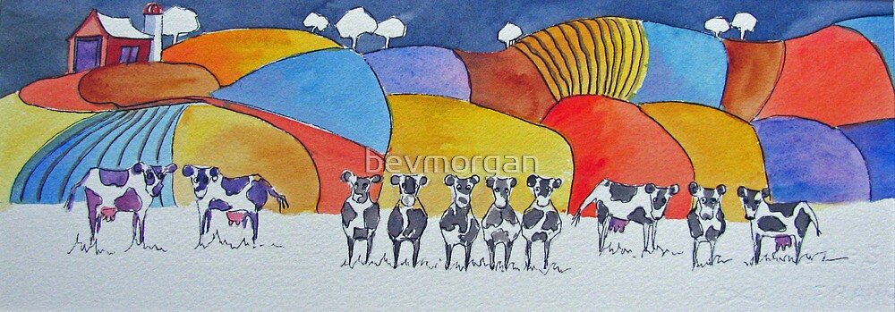 The Dairy Aisle by bevmorgan