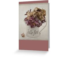 Belle Fleure Greeting Card