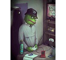 FROG GAMER  Photographic Print