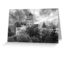 Castle Dracula Greeting Card