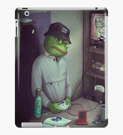 FROG GAMER  iPad Case/Skin
