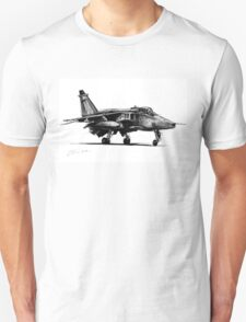 Jaguar Fighter Bomber Jet Unisex T-Shirt