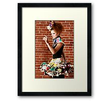Haute Couture 1 Framed Print