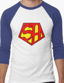 Super Sherlock Men's Baseball ¾ T-Shirt