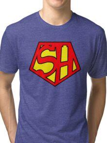 Super Sherlock Tri-blend T-Shirt