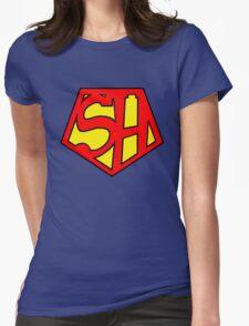 Super Sherlock Womens Fitted T-Shirt