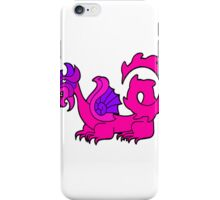 Pink dragon iPhone Case/Skin
