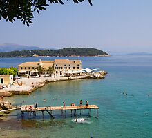 Summer in Corfu Town by Jonathan Game