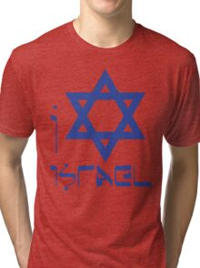 I LOVE ISRAEL T-shirt Tri-blend T-Shirt