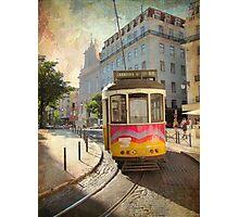 Enjoying Lisbon Photographic Print