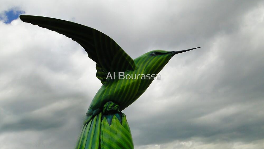Hummingbird Art XIII by Al Bourassa