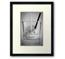 Not sober every day Framed Print