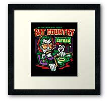 Harley's Bat Country Framed Print