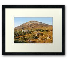 Mount Errigal Framed Print