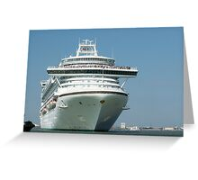 Liner Greeting Card